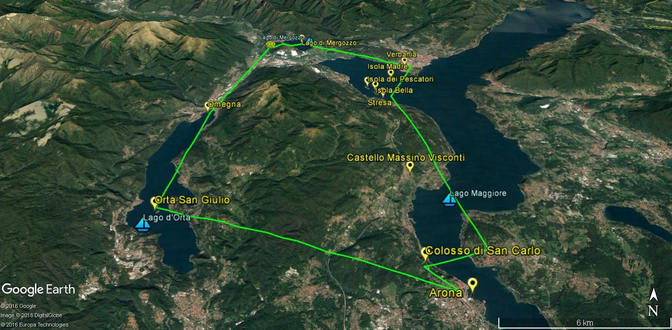 tour lago Maggiore e d'Orta